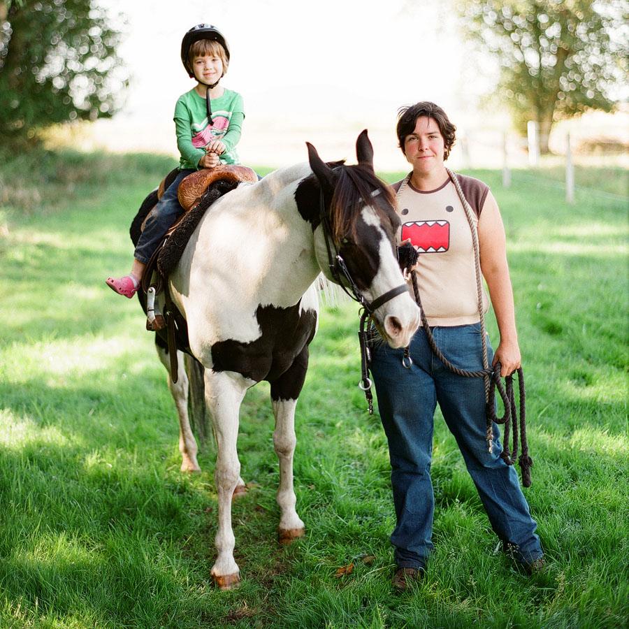 Horse rides at the Horse Shu Ranch